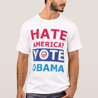 T-shirt Haine Obama ? Anti pièce en t drôle d'Obama