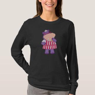T-shirt Hallie l'hippopotame heureux