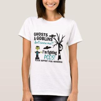 T-shirt Halloween 1 guerrier de PCOS