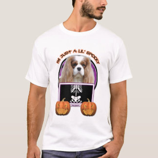 T-shirt Halloween - juste un Lil éffrayant - cavalier -