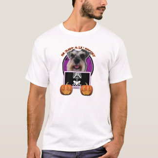 T-shirt Halloween - juste un Lil éffrayant - Schnauzer