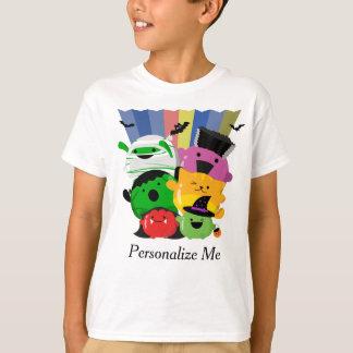 T-shirt Halloween personnalisable - amis mignons de Mochi
