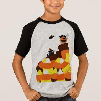 T-shirt Halloween personnalisable - courage de pirate