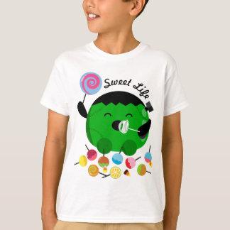 T-shirt Halloween personnalisable - Frankenstein et