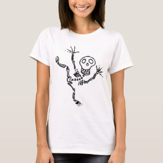 T-shirt Halloween Sceleton