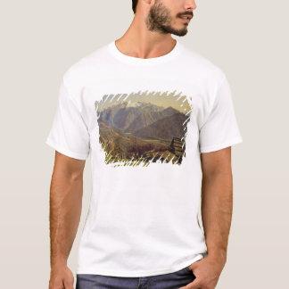 T-shirt Hallstatter-Voyez (huile sur la toile)