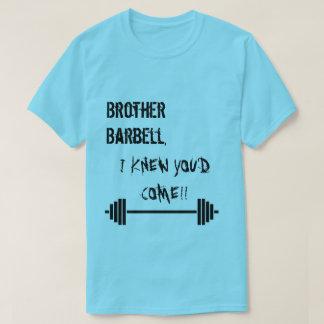 T-shirt Haltère de frère