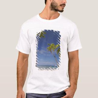 T-shirt Hamac et palmiers, île-hôtel de plantation