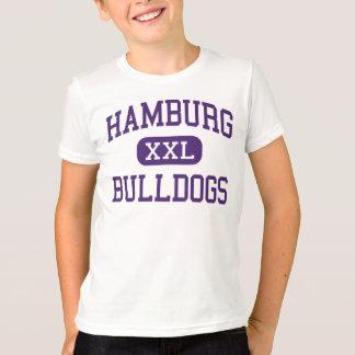 T-shirt Hambourg - bouledogues - haute - Hambourg New York