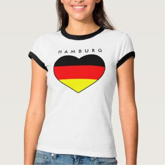 T-shirt Hamburg-Herz-Shirt championnat du monde d'Allemagn