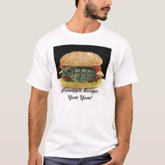 T-shirt Hamburger d'ananas