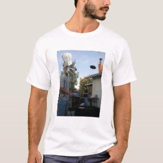 T-shirt Hamburger de coyote