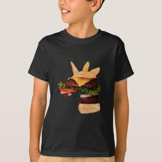T-shirt Hamburger de licorne