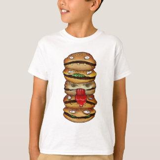 T-shirt Hamburger d'enfant !