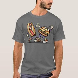 T-shirt Hamburger du hot-dog n