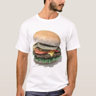 T-shirt Hamburger parfait