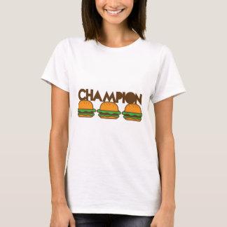 T-shirt HAMBURGERS de CHAMPION yum !