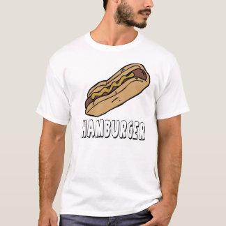 T-shirt Hamburgers de hot dogs pas