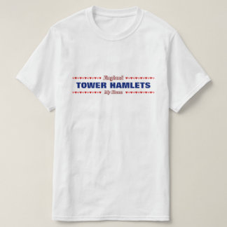 T-shirt HAMEAUX de TOUR - ma maison - l'Angleterre ;
