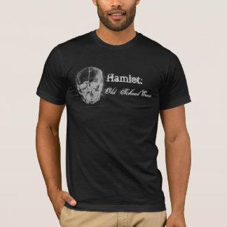 T-shirt Hamlet : Vieille école Emo