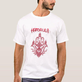 T-shirt Hamsa Lila