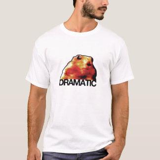 T-shirt hamster/chien dramatiques de tamia/prairie