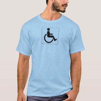 T-shirt handicap accessible