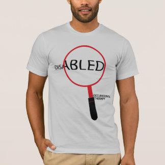 T-shirt handicapé