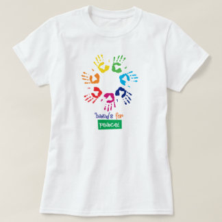 T-shirt Hands for peace