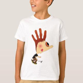 T-shirt HANDzYMANS-Rollerblader