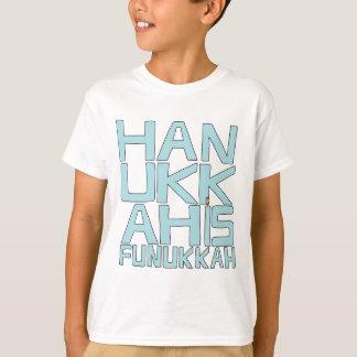 T-shirt Hanes/Funukkah d'enfants de Hanoukka