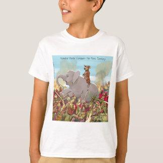 T-shirt Hannibal drôle Barqa conquiert la terre