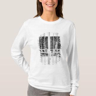 T-shirt Hanoï détail de cellules de prison de Vietnam,