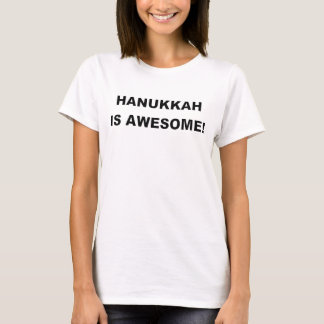 T-shirt HANOUKKA EST AWESOME.png