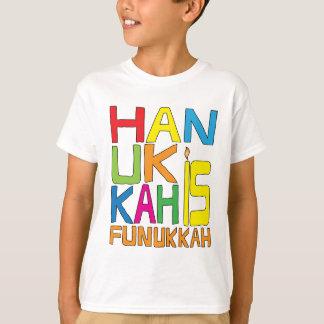 T-shirt Hanoukka est chemise de Funukkah