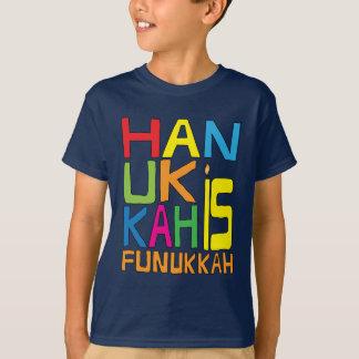 T-shirt Hanoukka est chemise de Funukkah/chemise couleur
