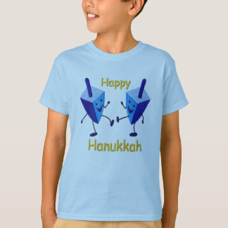 T-shirt Hanoukka heureux