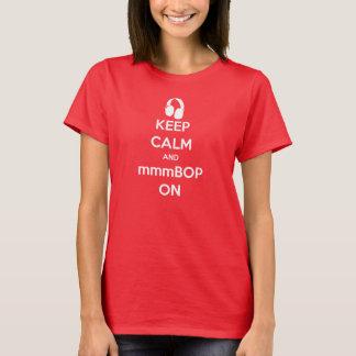 T-shirt Hanson gardent le calme et le mmmBOP dessus