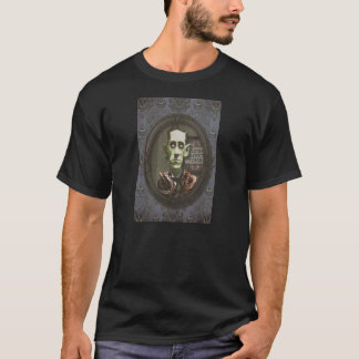 T-shirt hanté de HP Lovecraft de zombi