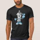 T-shirt Happy paint spray