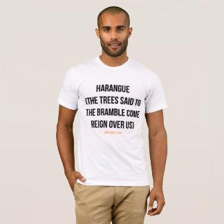 T-shirt Harangue