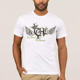 T-shirt Harassé et confus