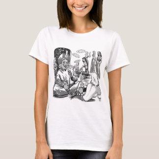 T-shirt Harem vintage de Bagdad de narguilé de tabac de