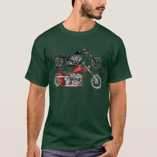 T-shirt Harley Davidson - Shovelhead Chopper