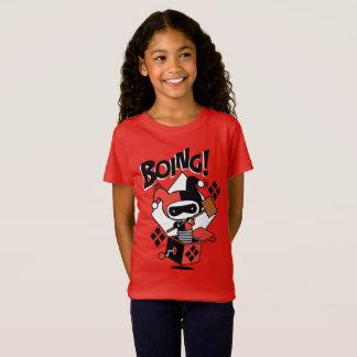T-Shirt Harley-Quinn-Dans-UN-Box de Chibi avec le marteau
