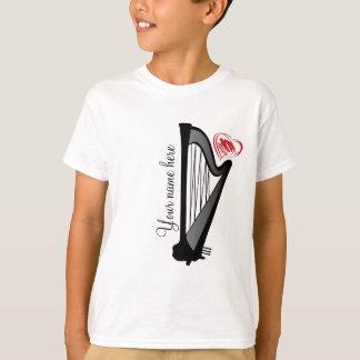 T-shirt Harpe d'amour