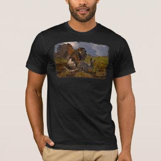 T-shirt Harris colportent et lièvre - acrylique