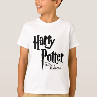 T-shirt Harry Potter et le de mort sanctifie le logo 2