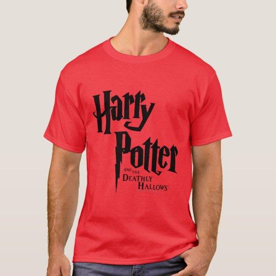 T-shirt Harry Potter et le de mort sanctifie le logo 2
