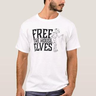 T-shirt Harry Potter | librement les elfes de Chambre